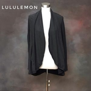 Lululemon Cover Up Cardigan Dolman Sleeve Cocoon